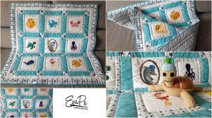 Hrací deka pro miminko